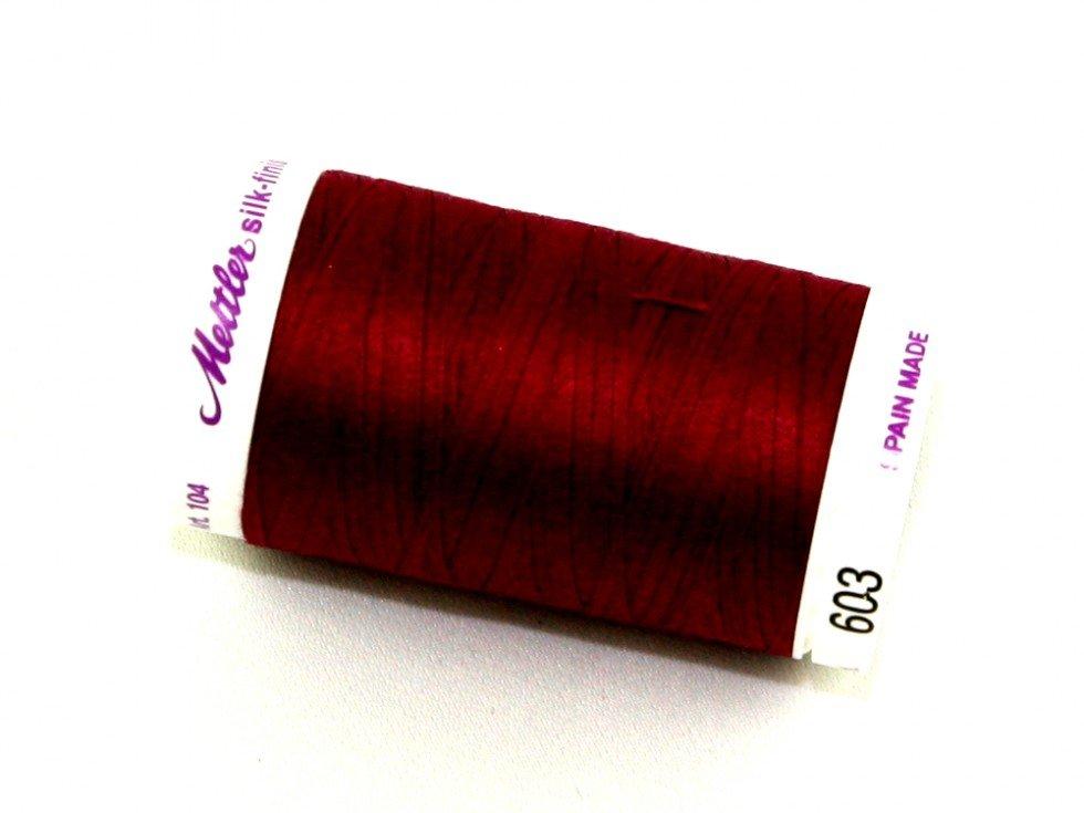 Mettler Silk-Finish 50wt Cotton Thread #603 Pomegranate