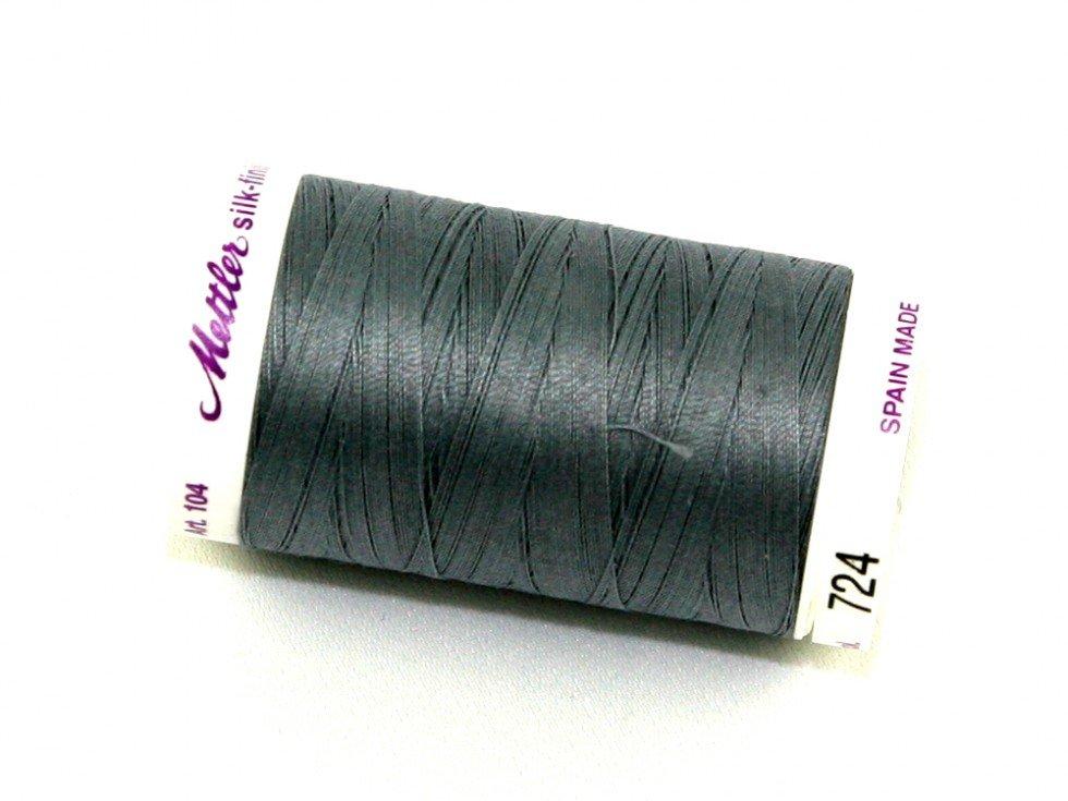 Mettler Silk-Finish 50wt Cotton Thread #724 Smoke