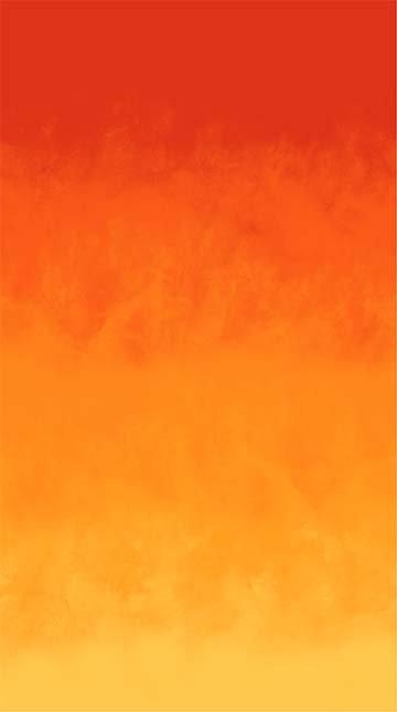 Rejoice Orange ombre