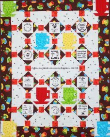 Co   Coffee Time Wall Hanging Pattern