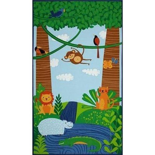 Rainforest Fun Panel 23 x 42