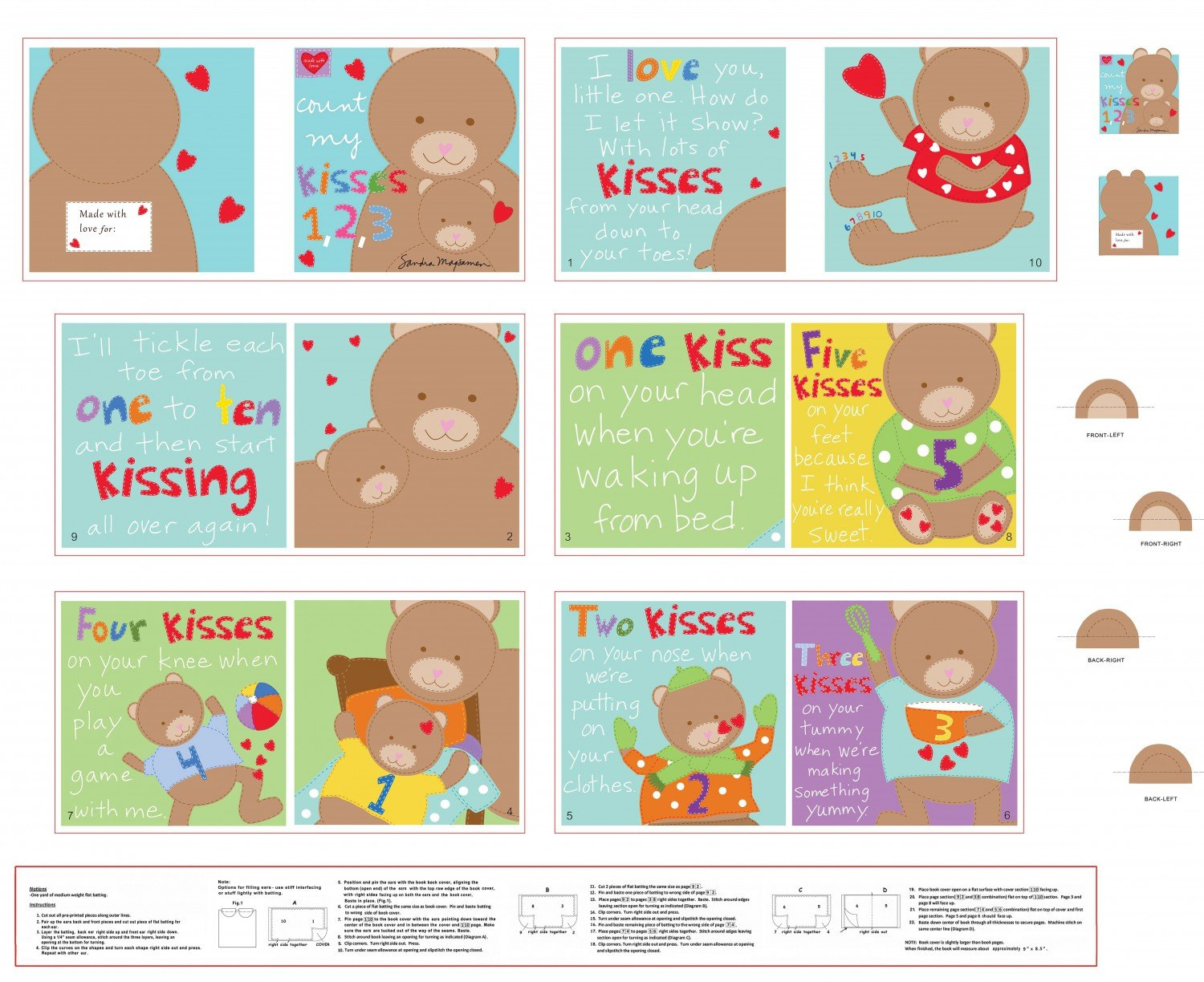 Multi Count my Kisses Book 36 Panel