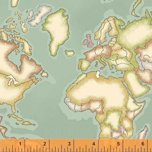 Meridian Continents Aqua Conttinents