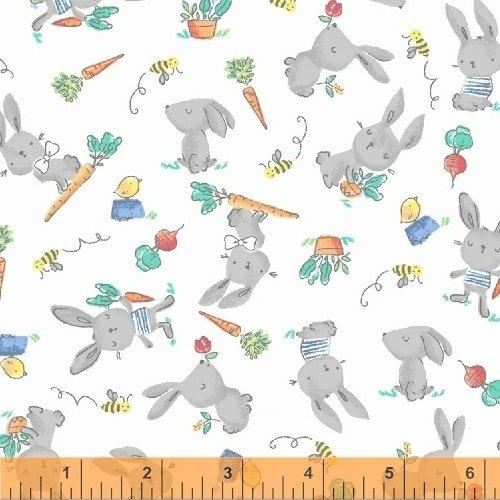 Cubby Bear Bunny Hop Flannel