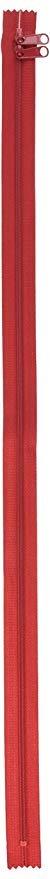 Handbag Zippers, 30 Double Slide-Hot Red