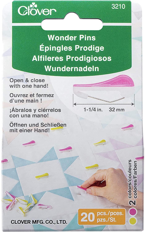 Clover Wonder Pins 1 1/4 20ct