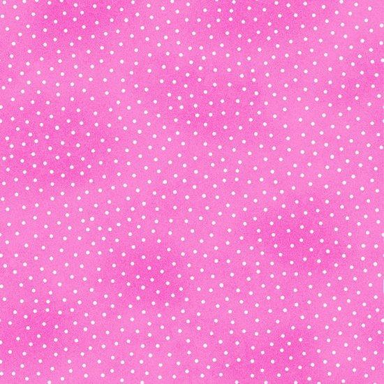 Comfy Prints Flannel Pink Dots