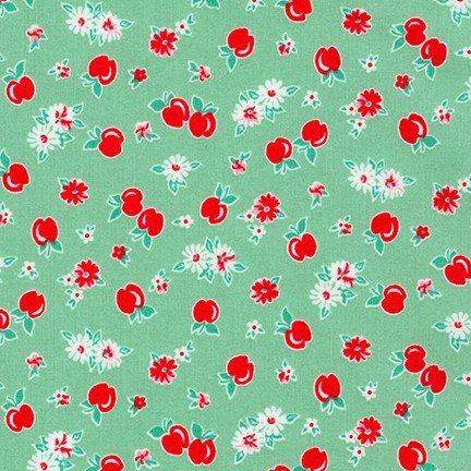 Darlene's Favorites - Aloe Green Floral