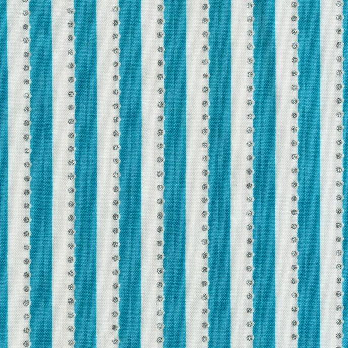 BeColourful By Jacqueline De Jonge Teal Stripe