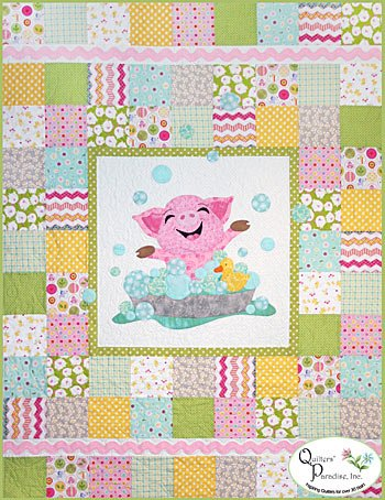 Bubbles Quilt Pattern QP1303 by Colette Belt
