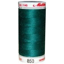 Mettler Silk-Finish 50wt Cotton Thread #850 Evergreen