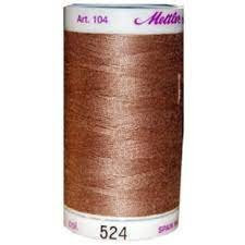 Mettler Silk-Finish 50wt Cotton Thread #524 Espresso