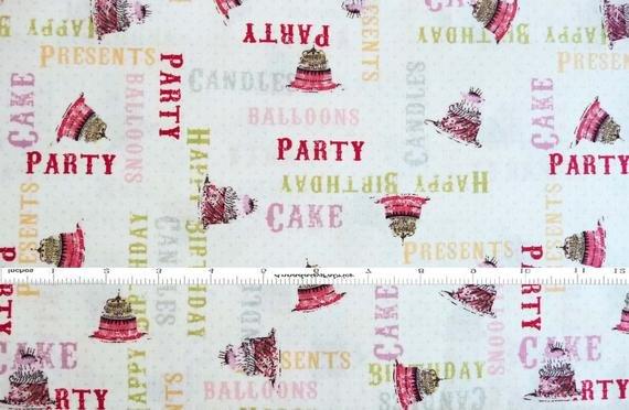 Birthday Party Hullabaloo 1392-32 Light Aqua