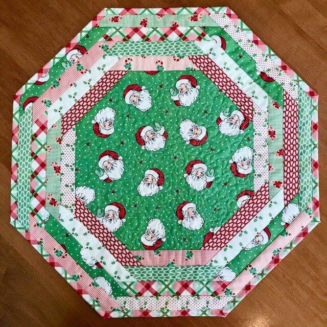 Deer Christmas Tablecloth