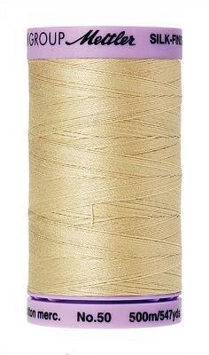 Mettler Silk-Finish 50wt Cotton Thread #0513 Rattan