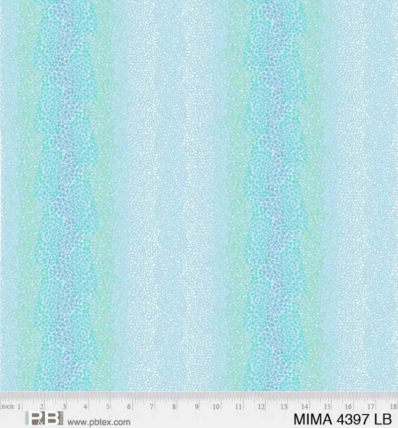 108 Mindful Mandalas Ombre Dot Stripe Wideback MIMA 04397 LB