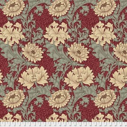 Merton Morris & Co Chrysanthemum Red