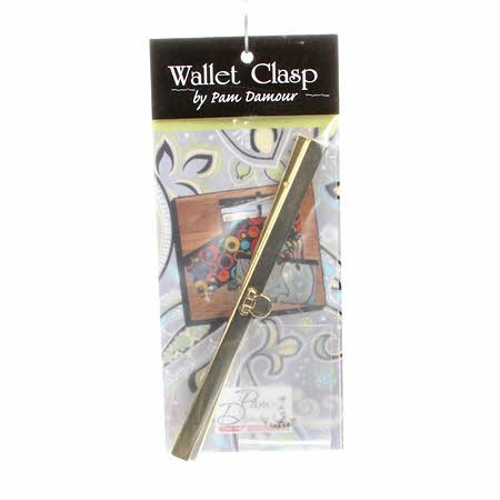 Wallet Clasp Frame Gold 7-1/2in