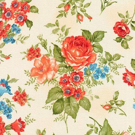 Cassandra Cream Florals