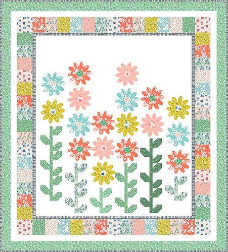 Sweet Blooms Quilt Kit