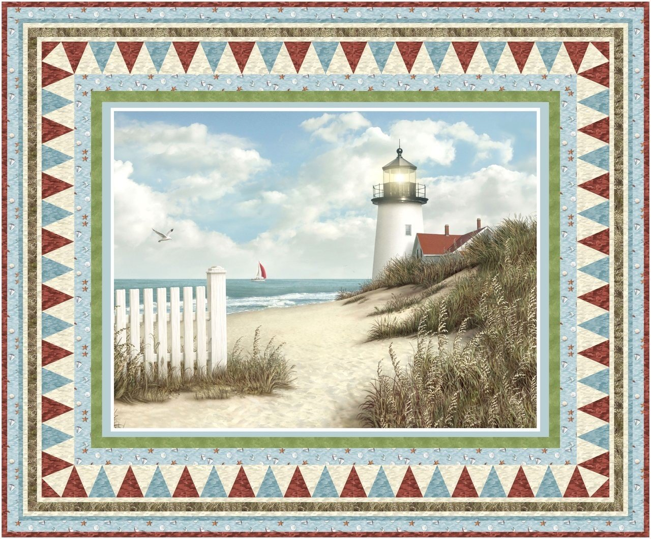 By the Peaceful Shore Quilt Kit
