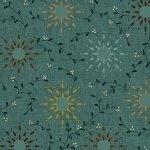 108 Prairie Vine Wideback -Turquoise