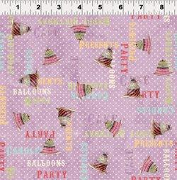 Birthday Party Hullabaloo 1392-26 Lavender
