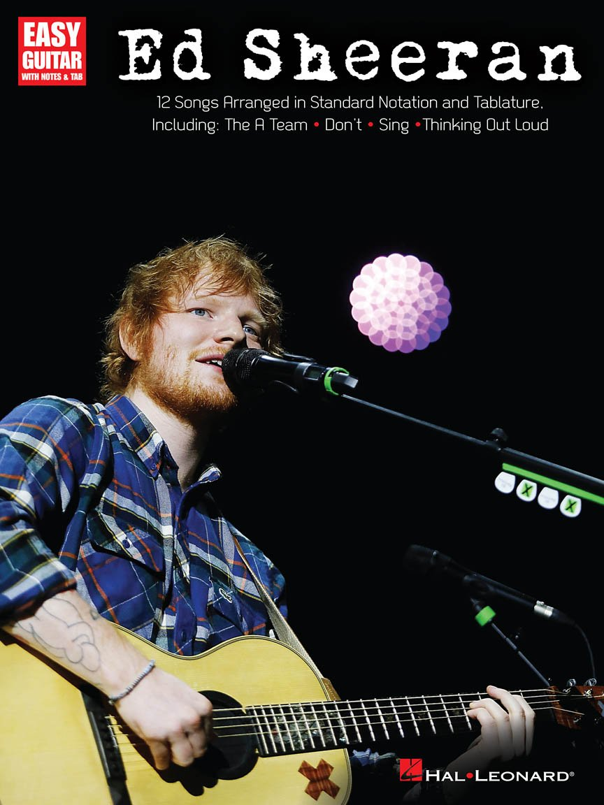 Ed Sheeran for Easy Guitar Easy Guitar with Notes & Tab
