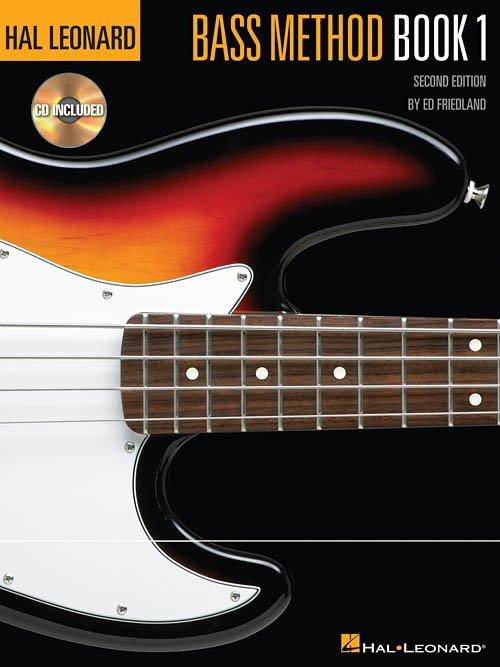 Hal Leonard Bass Method Book 1 - 2nd Edition - Online Audio