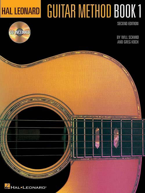 Hal Leonard Guitar Method Book 1 - Book/CD/Online Audio Pack