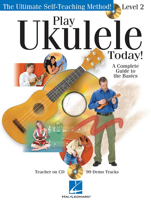 Play Ukulele Today!  A Complete Guide to the Basics - Level 2 - Audio Online