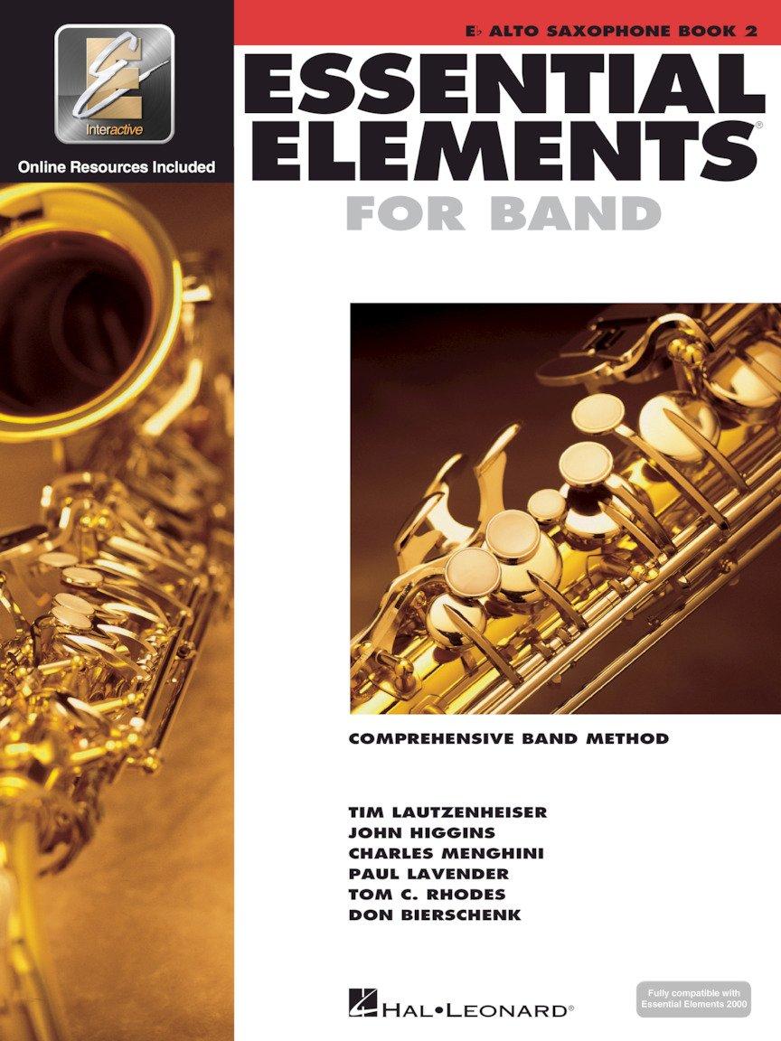 Essential Elements for Band Eb Alto Sax Book 2