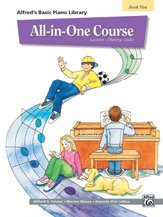 Alfred's Basic All-in-One Course Book 5 - Piano