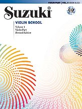 Suzuki Violin School Violin Part & CD Volume 1 (Revised)