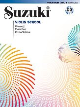 Suzuki Violin School Violin Part & CD Volume 2 (Revised)