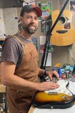 Repair Staff - Luthier Carl Chalmers