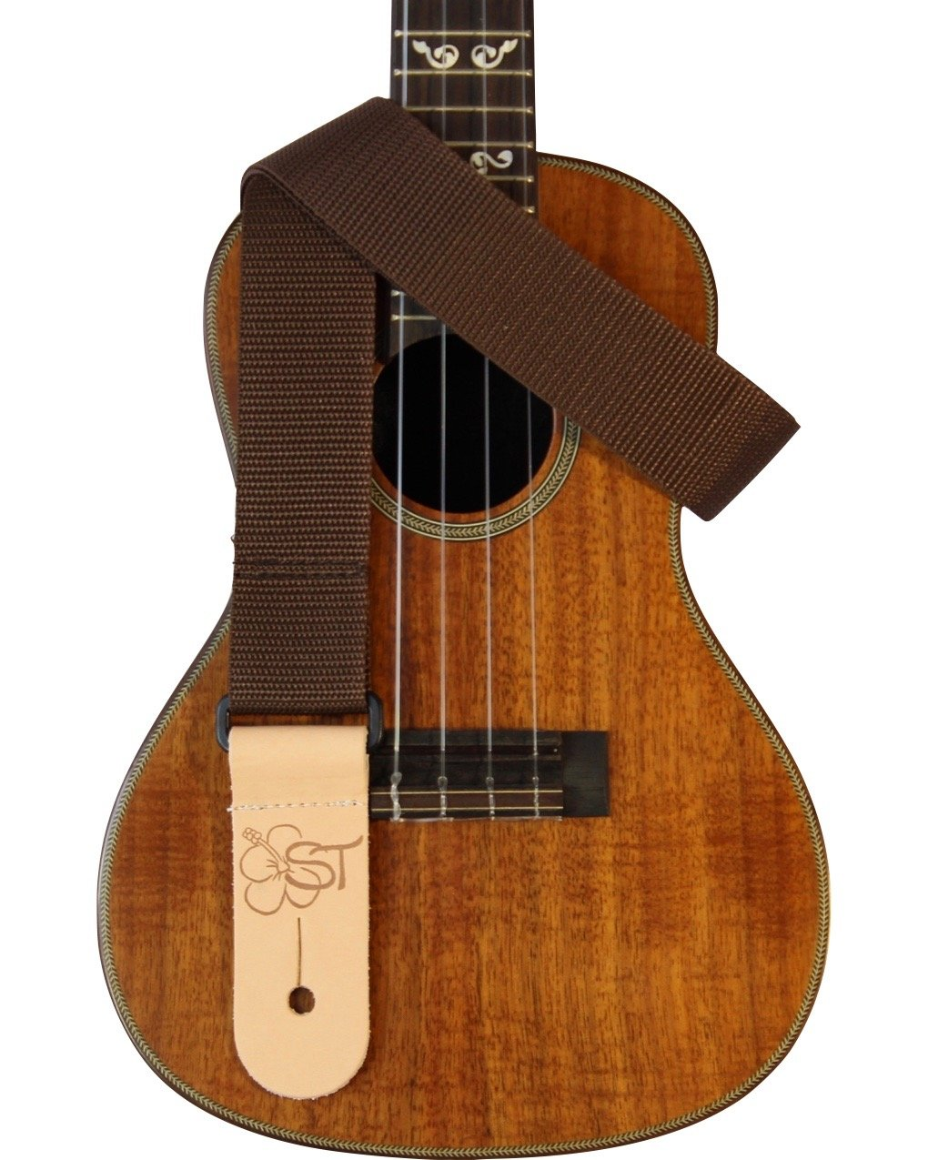 Sherrin's Threads 1.5 Poly Ukulele Strap - Brown