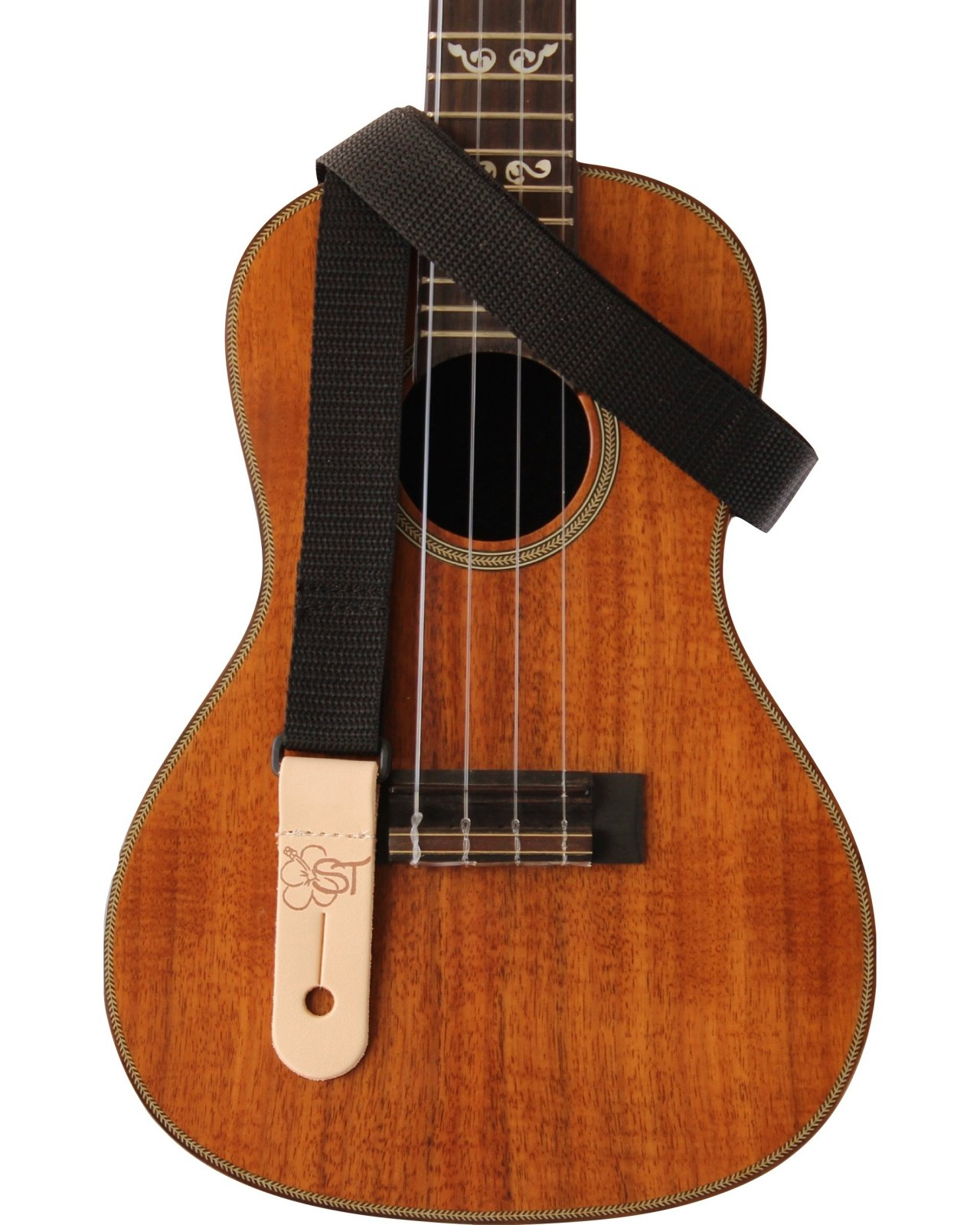 Sherrin's Threads 1 Kids Ukulele Strap - Black