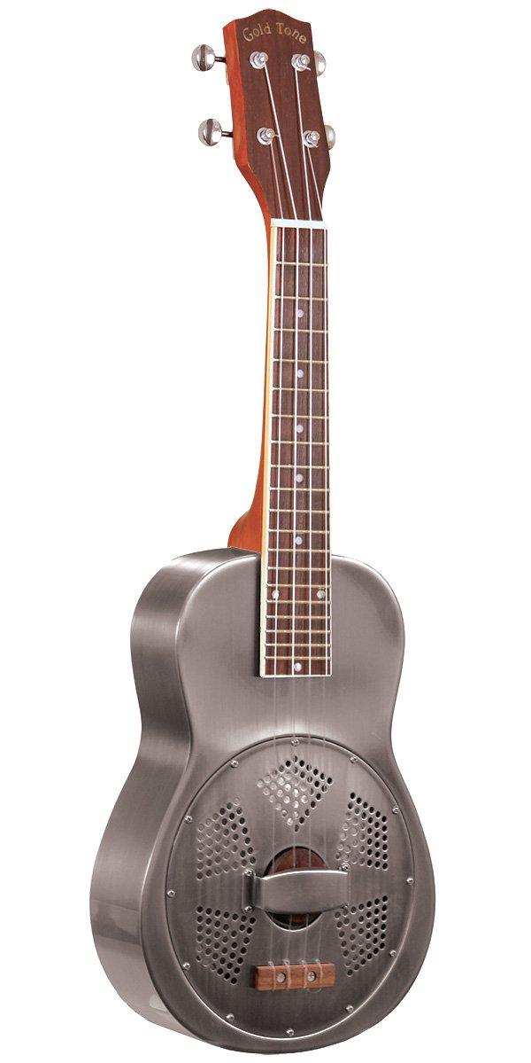 Gold Tone Resouke Concert Resonator ukulele w/Case