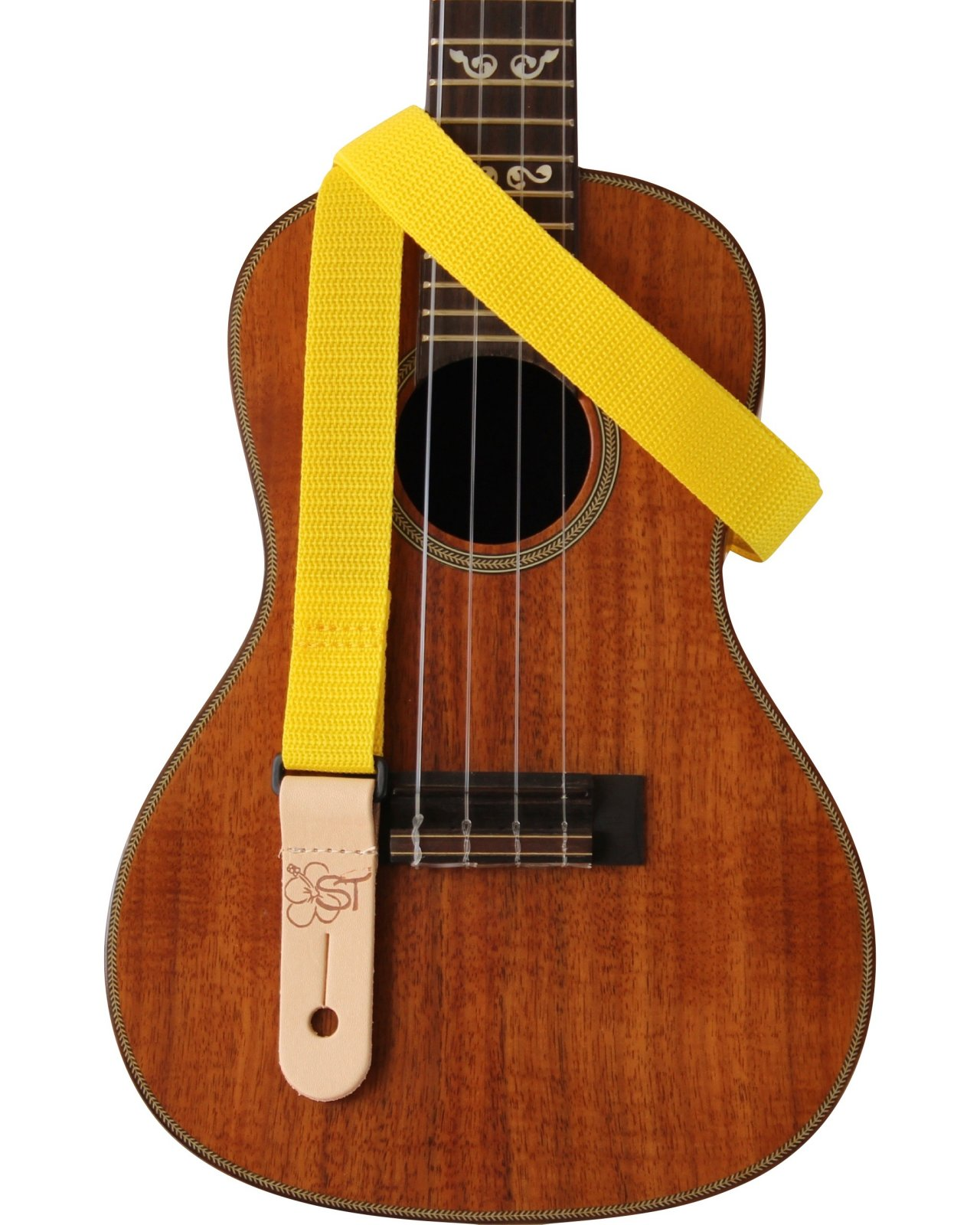 Sherrin's Threads 1 Poly Kids Ukulele Strap - Yellow