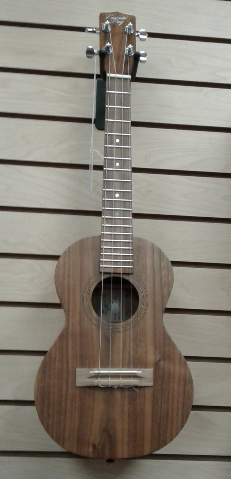 Emerald Bay Custom Tenor Ukulele - California Walnut