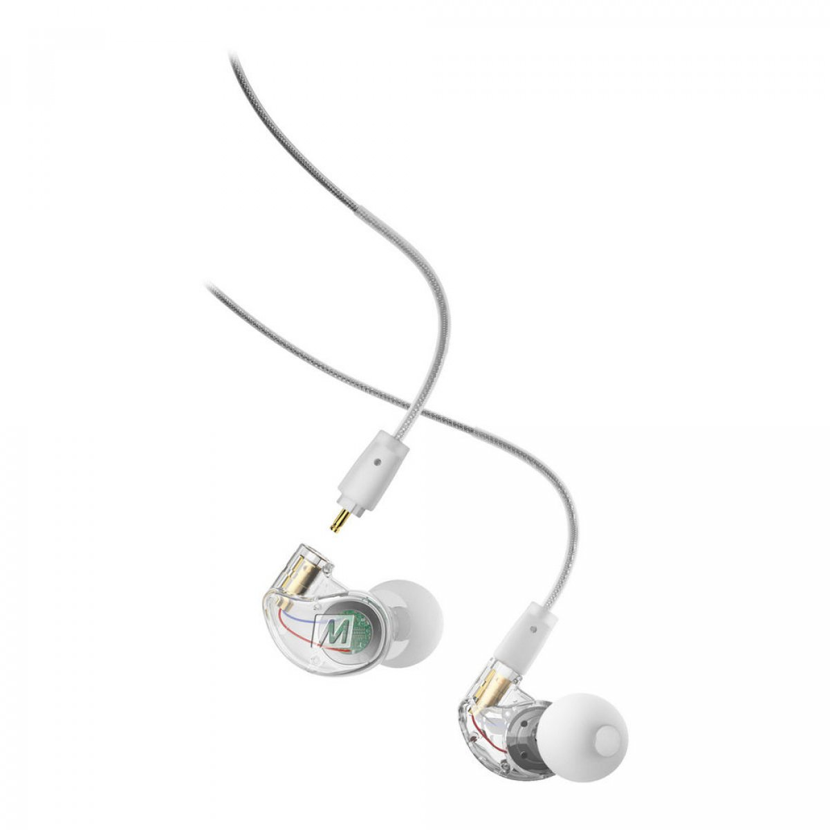 MEE M6 Pro 2nd Generation Noise-Isolating Earphones - Clear
