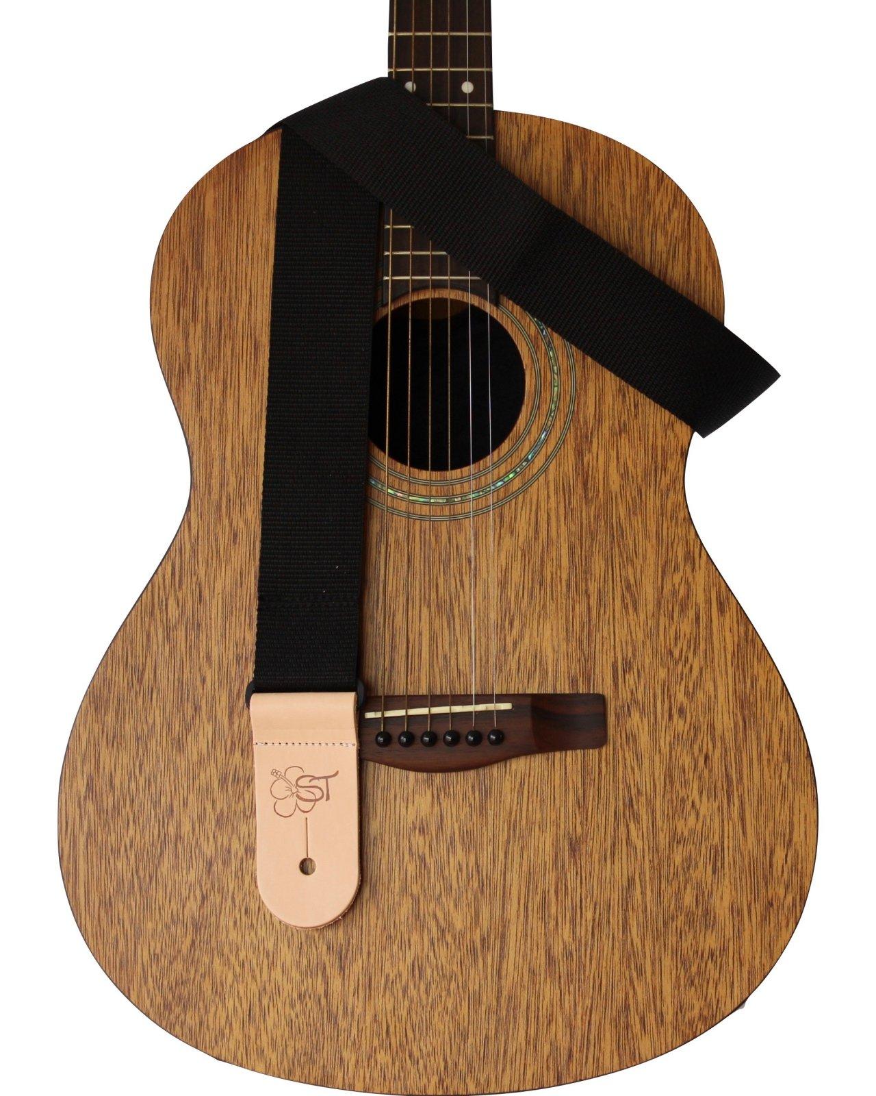 Sherrin's Threads 2 Black Guitar Strap
