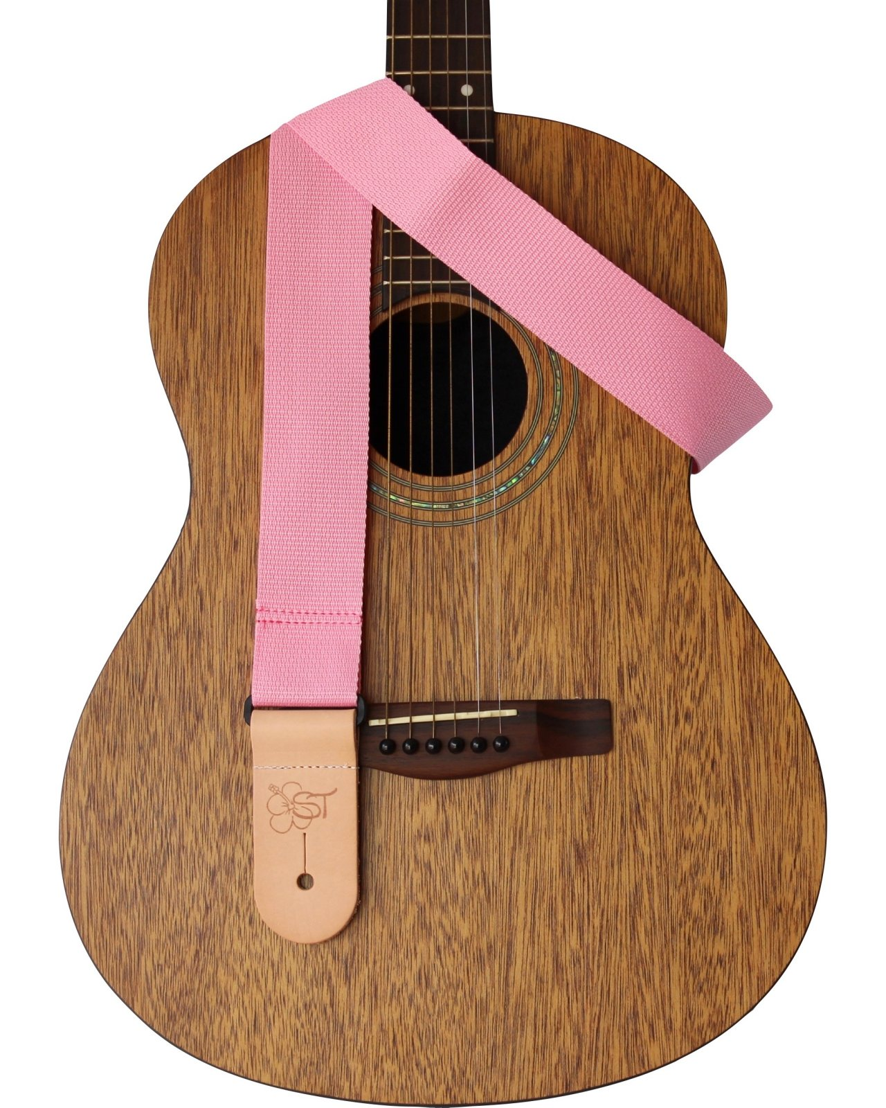 ST 2 Pink Guitar Strap