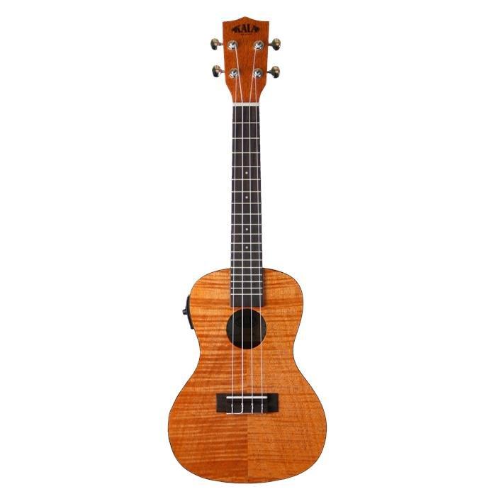 Kala KA-CEME Exotic Mahogany Acoustic-Elecric Concert Ukulele