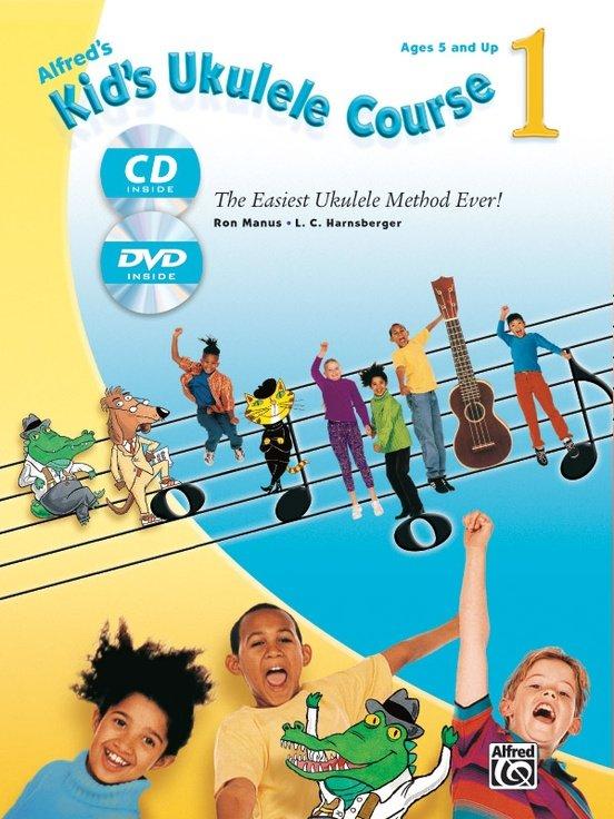 Kid's Ukulele Course 1 w/ CD & DVD