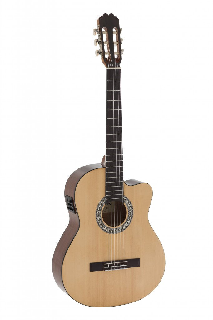 Admira Alba Cutaway A/E Classical Guitar, Beginner Series