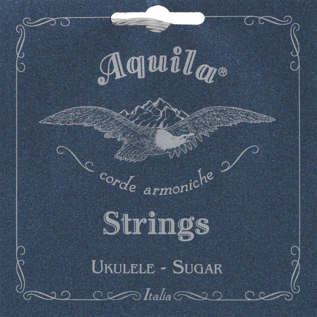 Aquila Sugar Ukulele Strings - Tenor Wound Low G Set