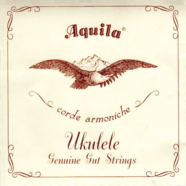 Aquila Genuine Gut Ukulele Strings - Soprano GCEA - copy