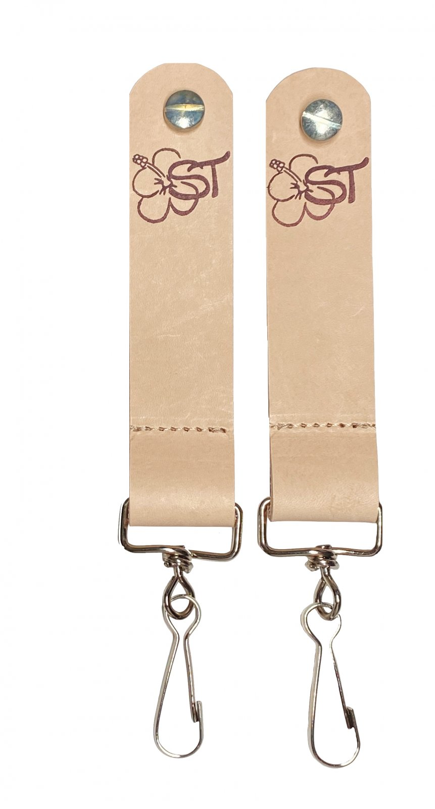 Sherrin's Threads Banjo Strap Adapters (Pair) - Natural